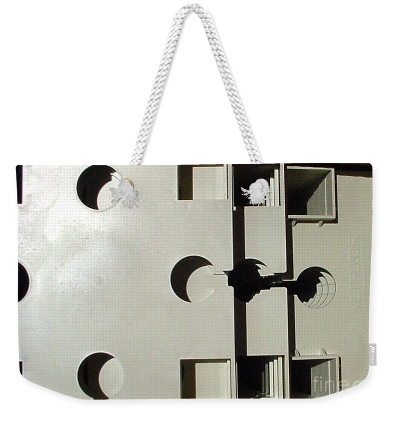 Digital Image Weekender Tote Bag featuring the photograph Grays by Ron Bissett