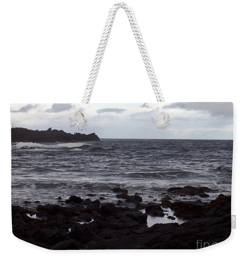 Water Weekender Tote Bag featuring the photograph Grayscale by Deborah Crew-Johnson
