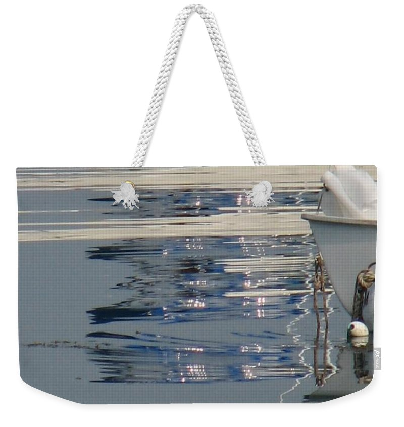 Ocean Weekender Tote Bag featuring the photograph Great Day For Sailing by Kelly Mezzapelle