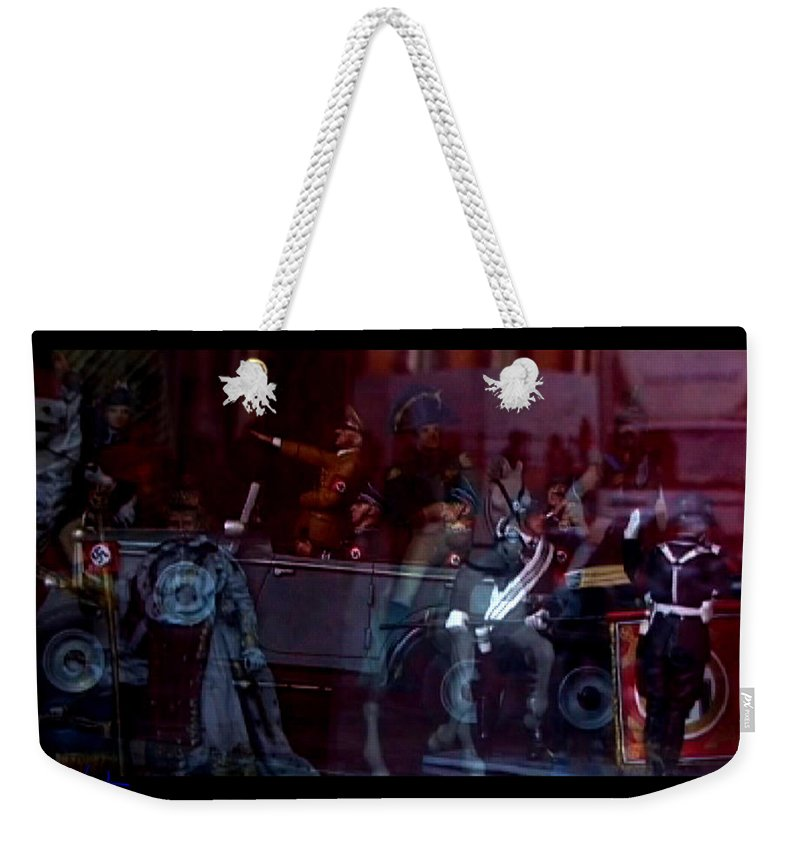 Dream Weekender Tote Bag featuring the photograph Great Dictators As Tin Men by Charles Stuart