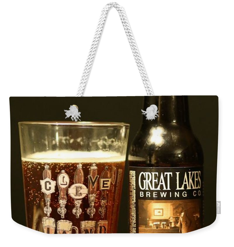 Beer Weekender Tote Bag featuring the photograph Great Lakes Brewery by Douglas Sacha