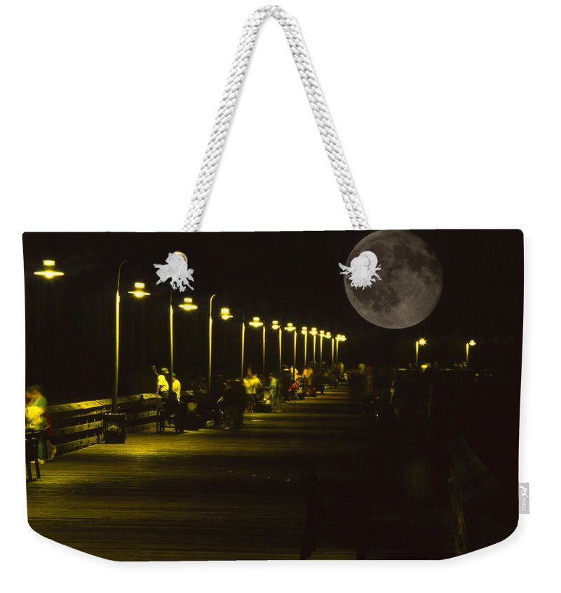 Ventura Pier Weekender Tote Bag featuring the photograph Great Lights by Soli Deo Gloria Wilderness And Wildlife Photography