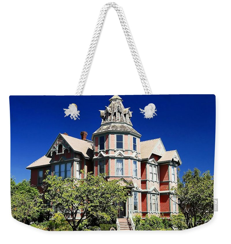 Russian Orthodox Weekender Tote Bag featuring the photograph Great Old House by David Lee Thompson