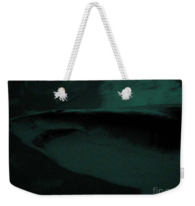 Shark Weekender Tote Bag featuring the photograph Great White Shark by Michael Potts