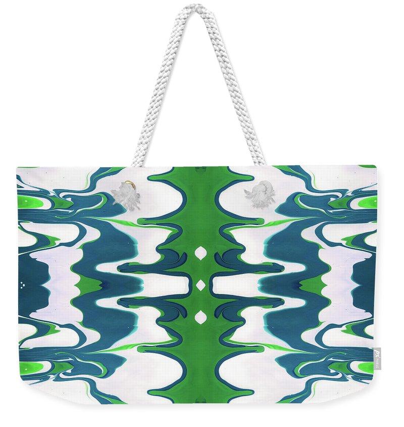 Fluid Weekender Tote Bags