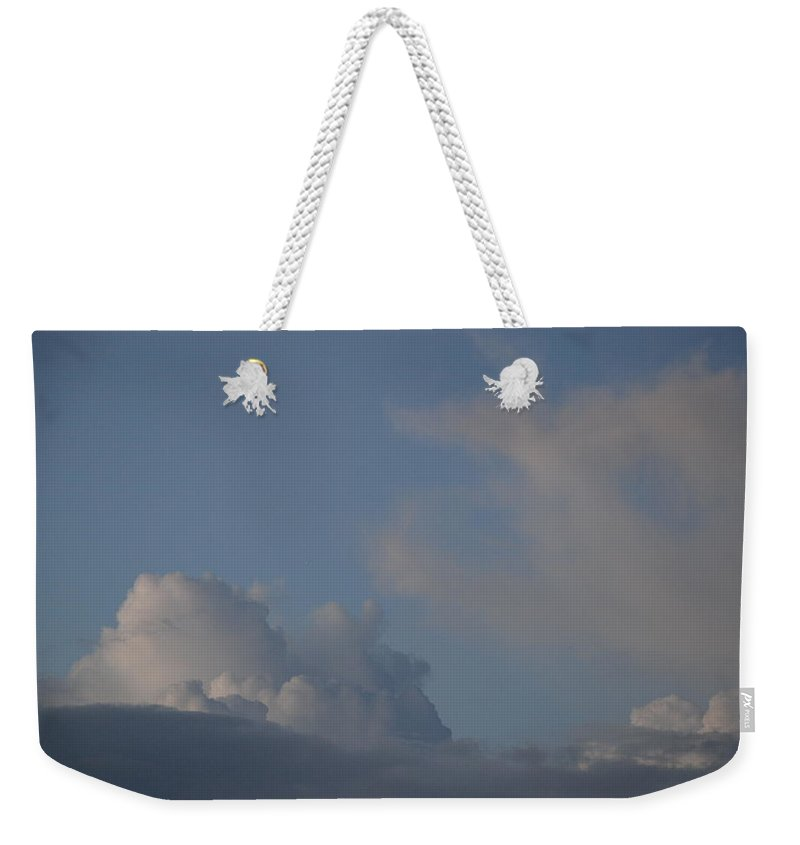 Clouds Weekender Tote Bag featuring the photograph Greyskys by Rob Hans
