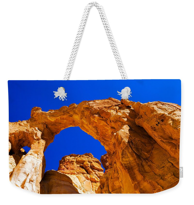Chad Dutson Weekender Tote Bag featuring the photograph Grosvenor Arch by Chad Dutson