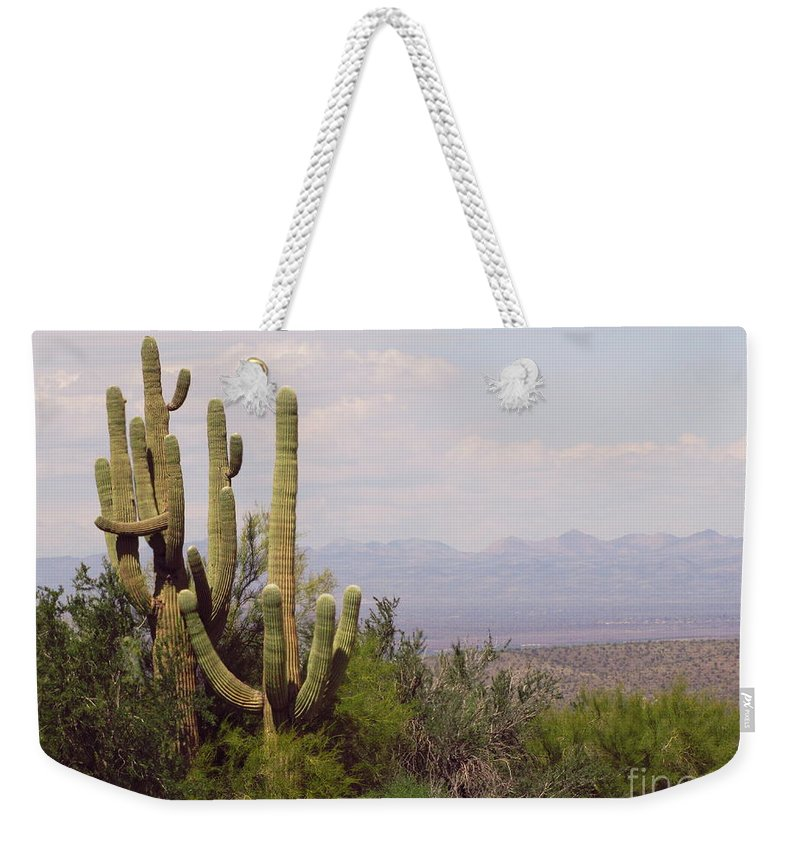 Scenery Weekender Tote Bag featuring the photograph Group Hug Scene by Marilyn Smith