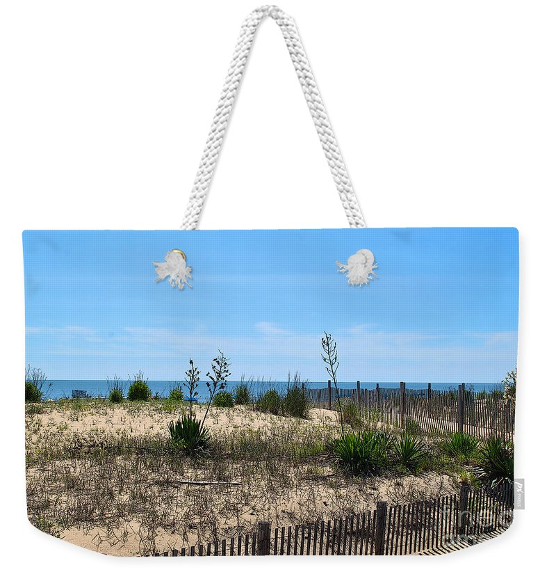 Rehoboth Weekender Tote Bag featuring the photograph Growth Of The Sea by Jost Houk
