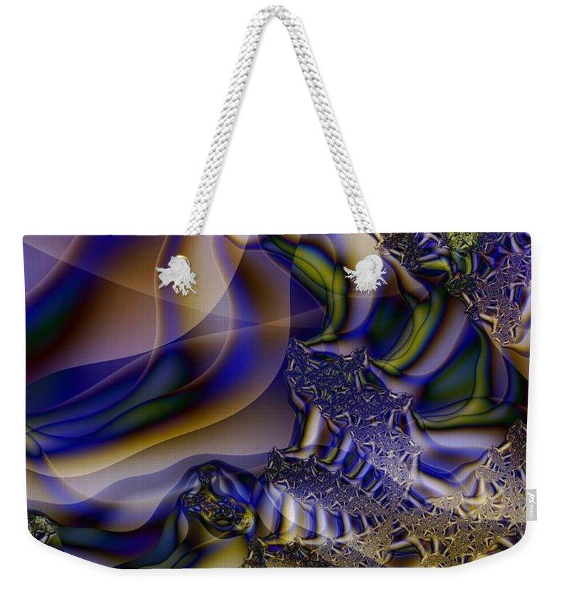 Segmentation Weekender Tote Bag featuring the digital art Growth Segmentation by Ron Bissett