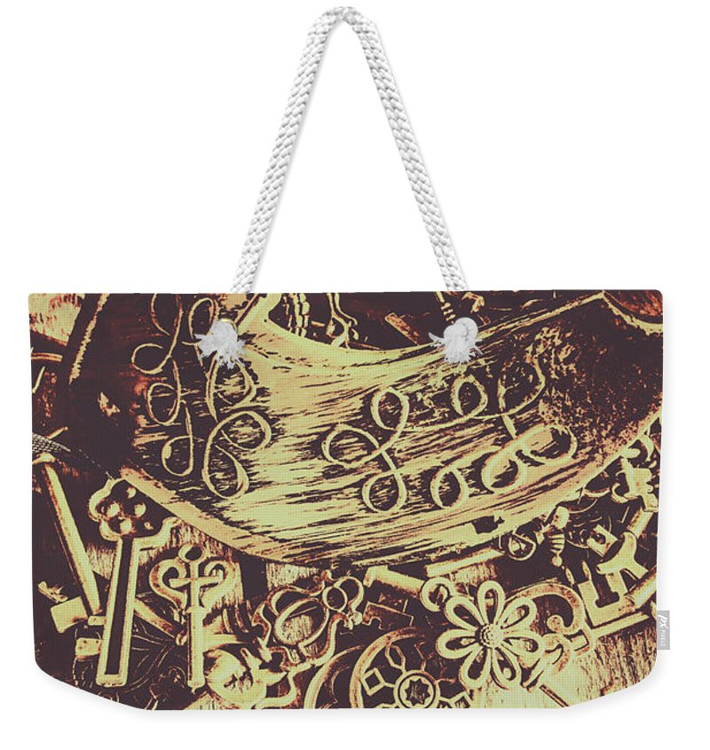 Mask Weekender Tote Bag featuring the photograph Guarding The Secrets Of Society by Jorgo Photography - Wall Art Gallery