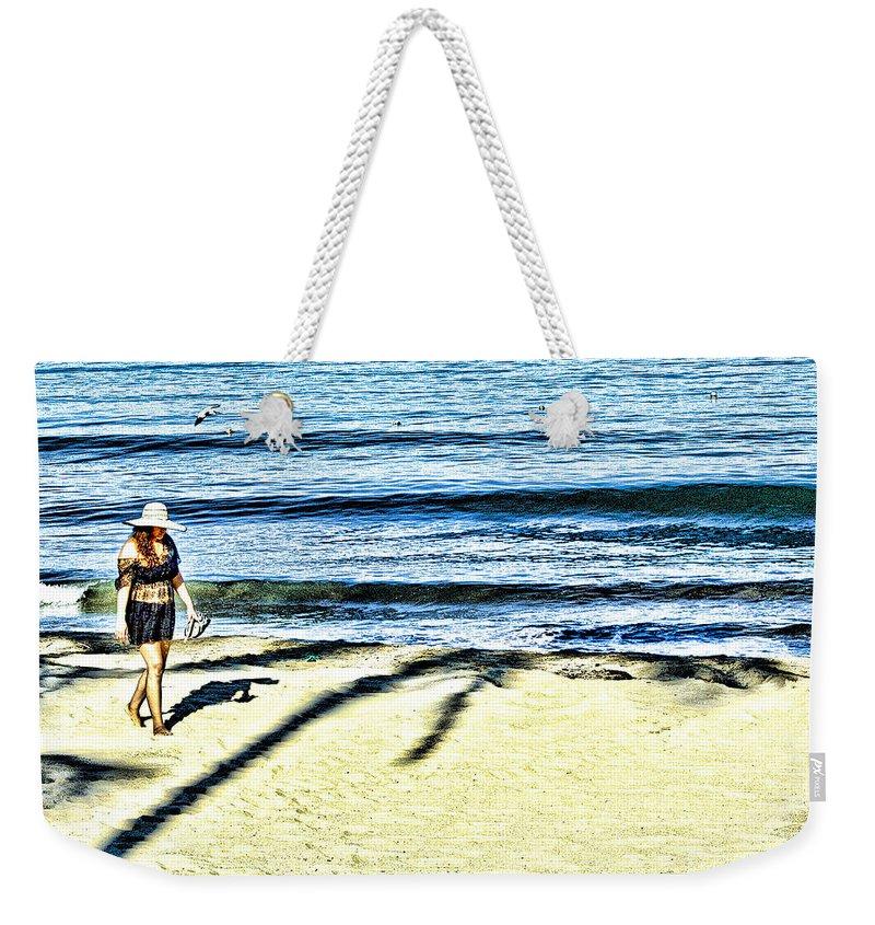 Beach Weekender Tote Bag featuring the photograph Guayabitos 1 by Kim Peto