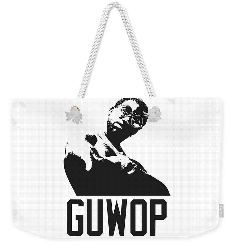 b43db1e65 Gucci Mane Weekender Tote Bag featuring the digital art Gucci Mane Guwop by  Trill Art