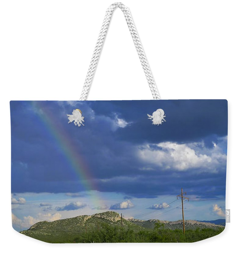 Guero Weekender Tote Bag featuring the photograph Guero by Skip Hunt