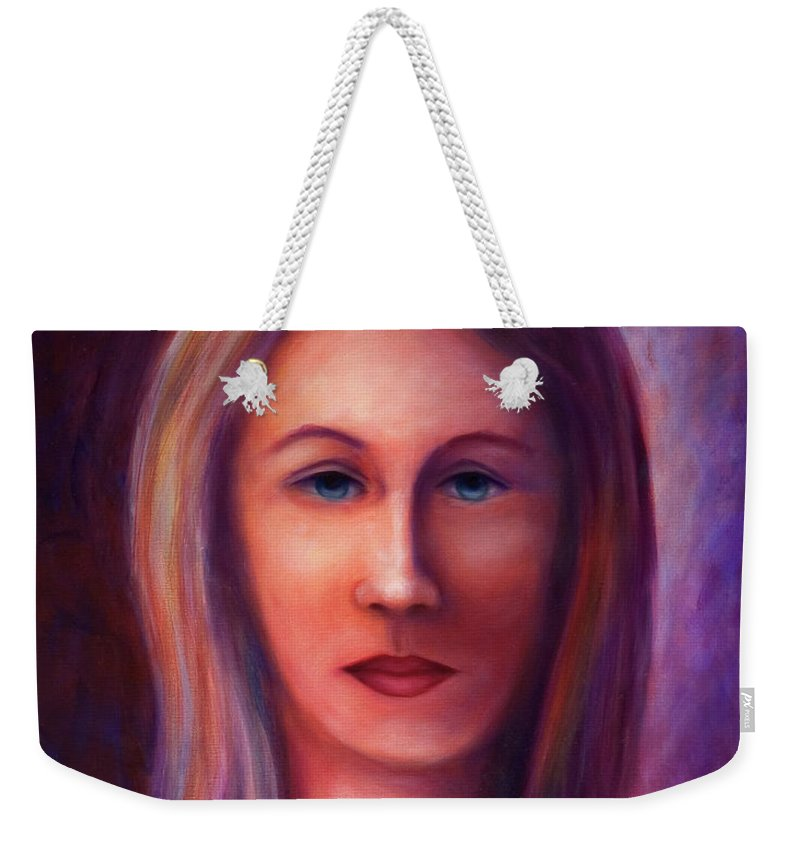 Woman Weekender Tote Bag featuring the painting Guide by Shannon Grissom