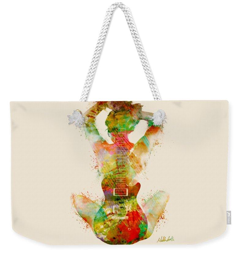 Pop Music Weekender Tote Bags