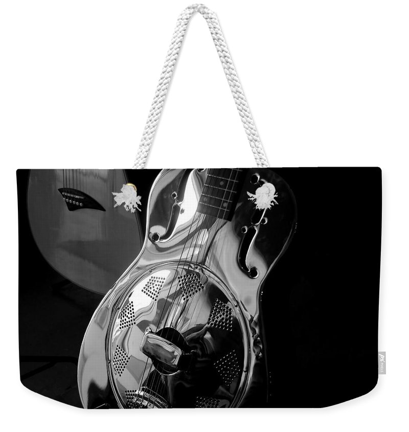 Guitars Weekender Tote Bag featuring the photograph Guitars by David Lee Thompson