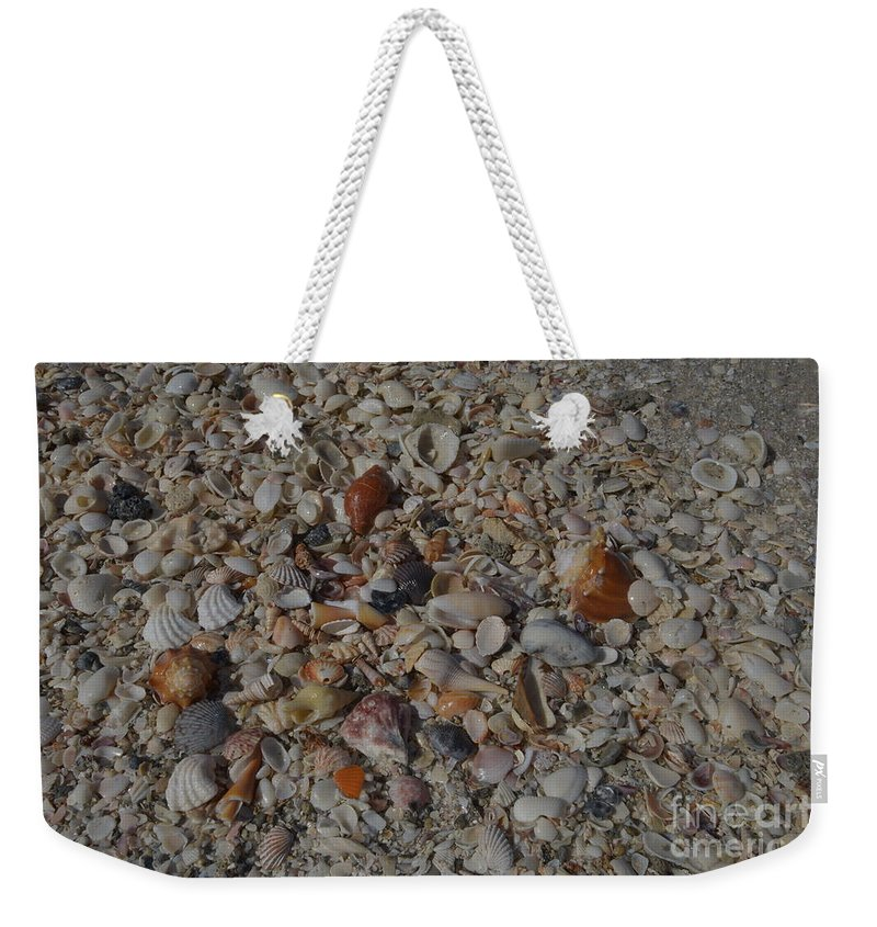 Seascape Weekender Tote Bag featuring the photograph Gulf Coast Collection by Terri Winkler