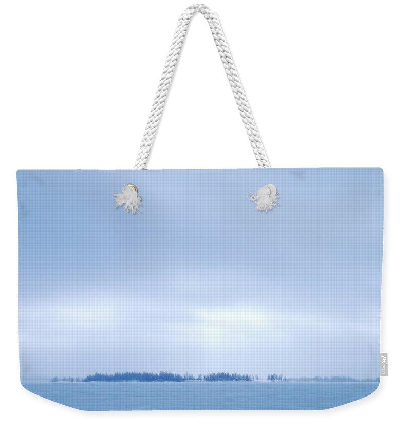 Lehtokukka Weekender Tote Bag featuring the photograph Gulf Of Bothnia Variations Nr 2 by Jouko Lehto