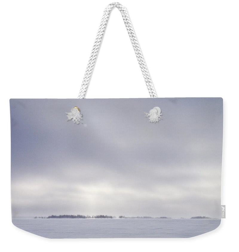 Lehtokukka Weekender Tote Bag featuring the photograph Gulf Of Bothnia Variations Nr 8 by Jouko Lehto