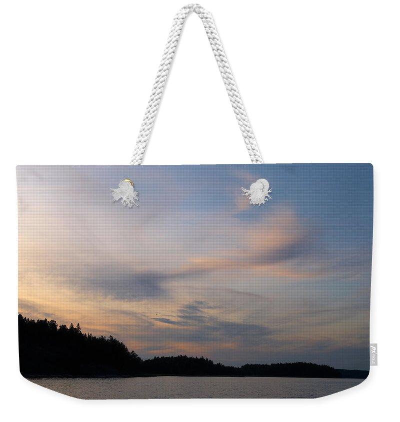 Lehtokukka Weekender Tote Bag featuring the photograph Gulf Of Pohja 1 by Jouko Lehto