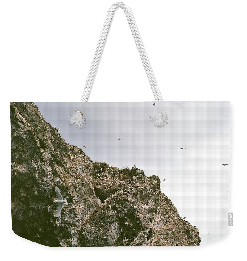 Gull Island Weekender Tote Bag featuring the photograph Gull Island by Kate Lamb
