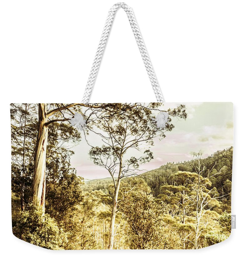 Bushland Weekender Tote Bag featuring the photograph Gumtree Bushland by Jorgo Photography - Wall Art Gallery