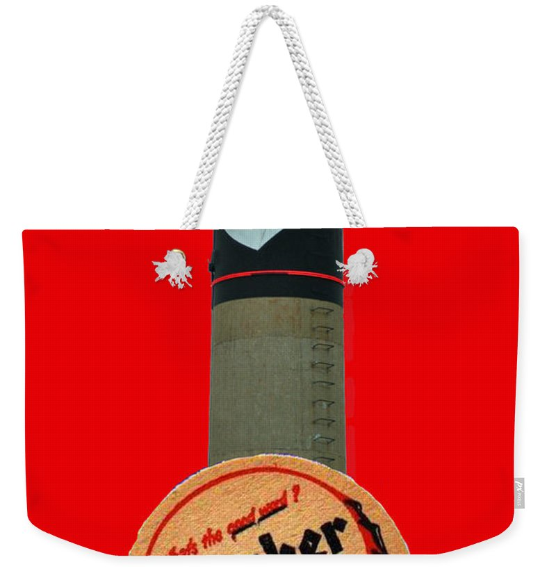 Gunther Weekender Tote Bag featuring the photograph Gunther Beer by Jost Houk