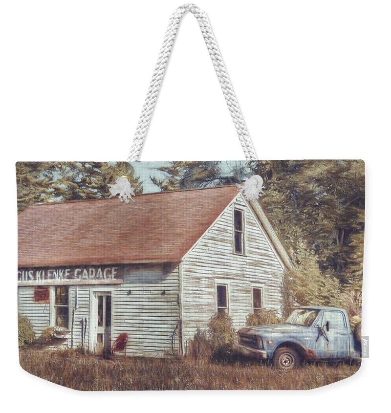 Lawn Chair Weekender Tote Bags