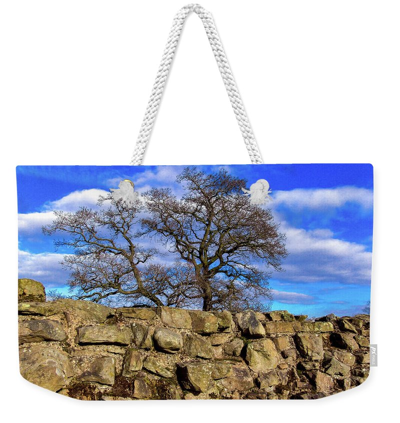 England Weekender Tote Bag featuring the photograph Hadrians Tree by Tim Dussault