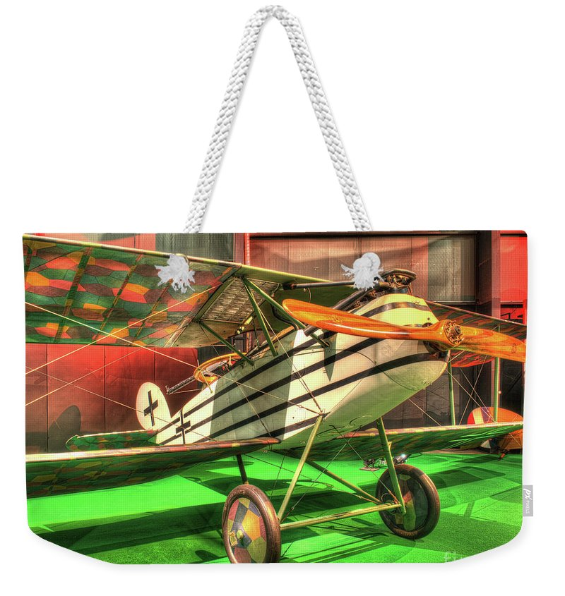Nose Weekender Tote Bag featuring the photograph Halberstadt Cl Iv by Greg Hager