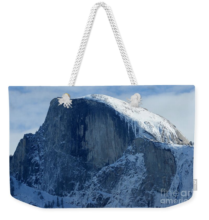 Half Dome Weekender Tote Bag featuring the photograph Half Dome by Christine Jepsen