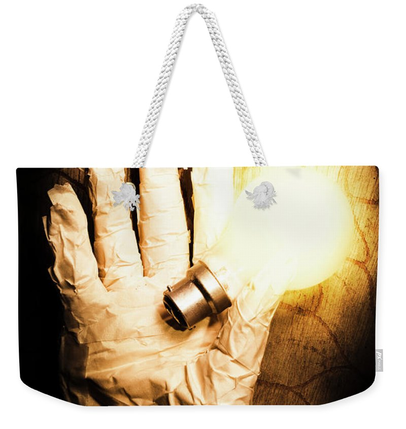 Halloween Weekender Tote Bag featuring the photograph Halloween Ideas Concept by Jorgo Photography - Wall Art Gallery