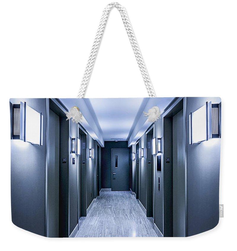 Kremsdorf Weekender Tote Bag featuring the photograph Halls Of Mystery by Evelina Kremsdorf