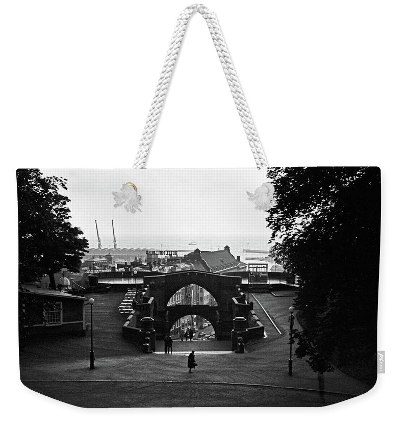 Sweden Weekender Tote Bag featuring the photograph Halsingborg 2 by Lee Santa