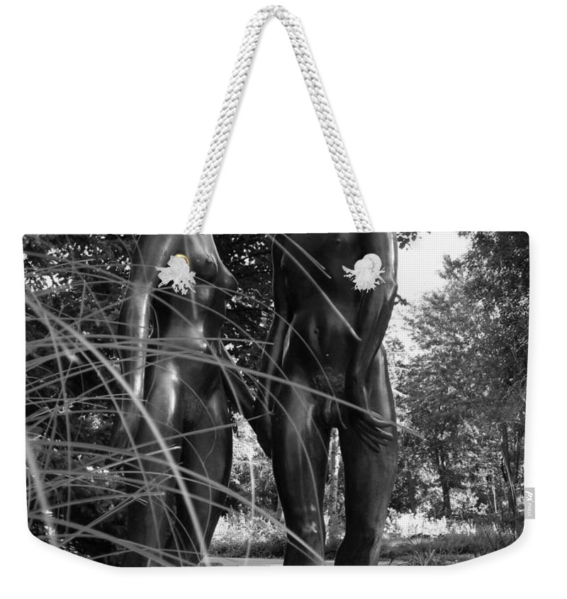 Nature Weekender Tote Bag featuring the photograph Hand In Hand by Juergen Weiss