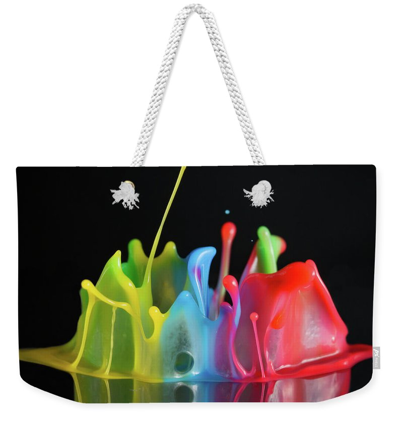 Macro Weekender Tote Bag featuring the photograph Happy Birthday by William Freebillyphotography