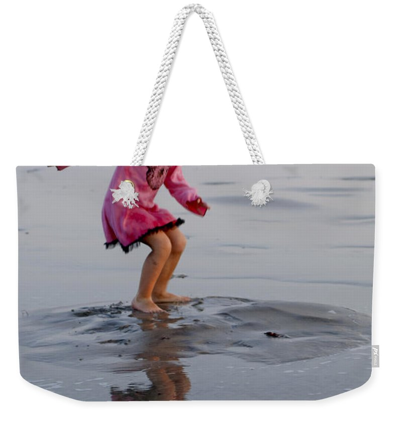 Happy Contest Weekender Tote Bag featuring the photograph Happy Contest 11 by Jill Reger