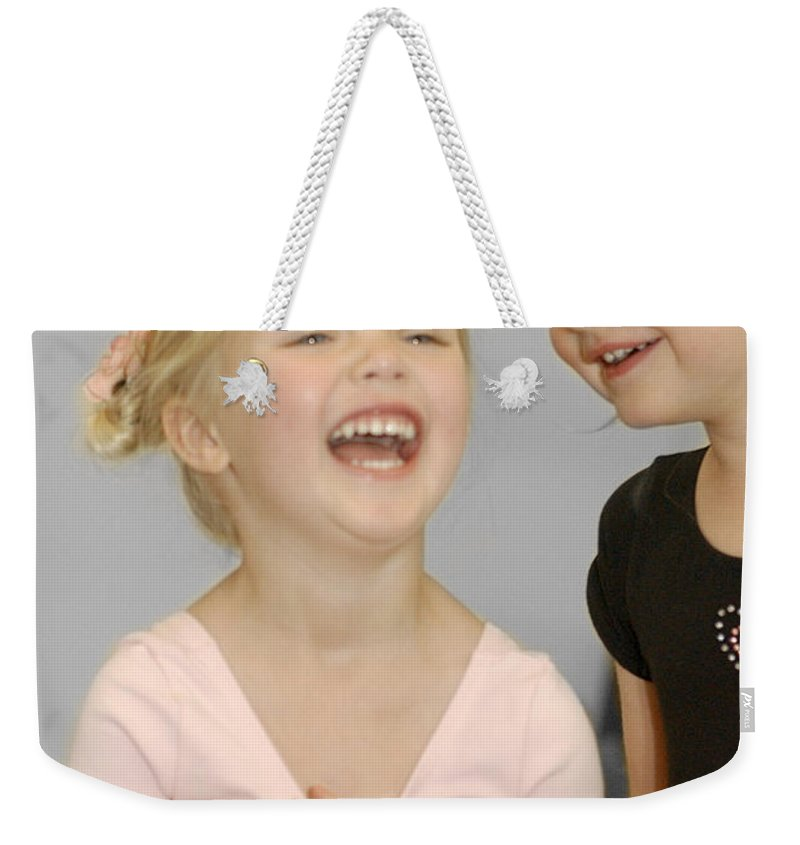 Happy Contest Weekender Tote Bag featuring the photograph Happy Contest 13 by Jill Reger