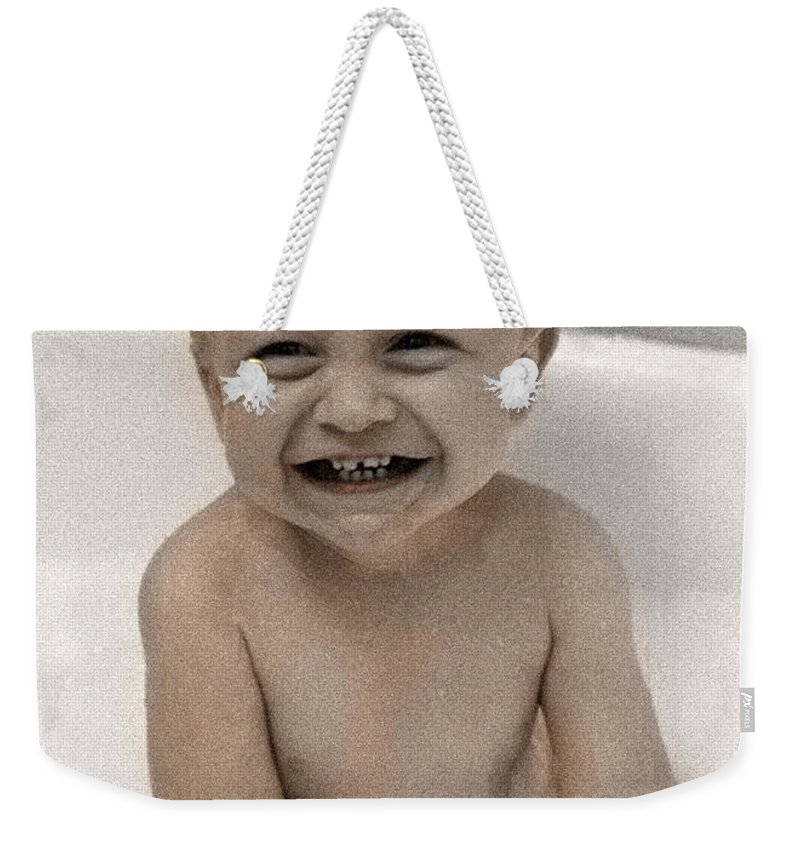 Happy Contest Weekender Tote Bag featuring the photograph Happy Contest 14 by Jill Reger