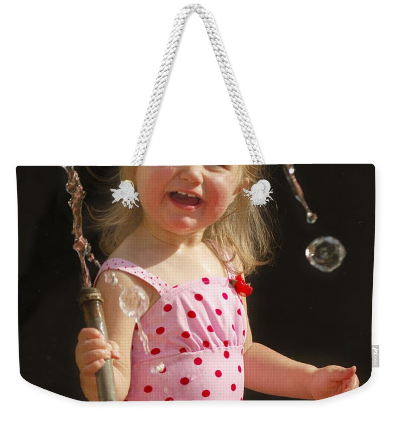 Happy Contest Weekender Tote Bag featuring the photograph Happy Contest 2 by Jill Reger