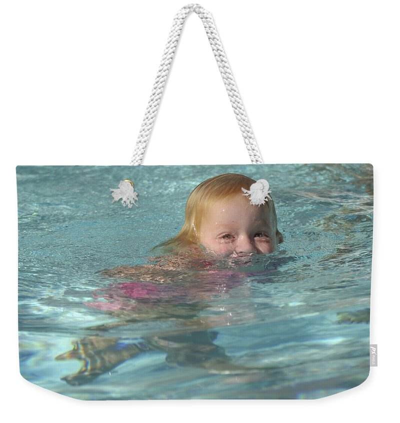 Happy Contest Weekender Tote Bag featuring the photograph Happy Contest 4 by Jill Reger