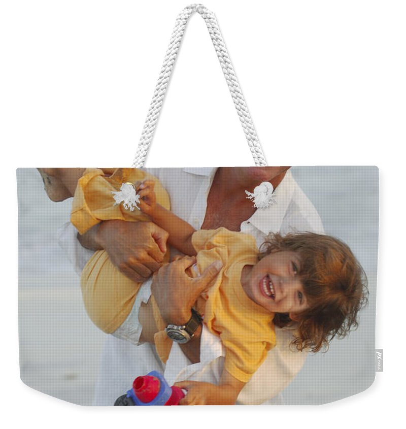 Happy Contest Weekender Tote Bag featuring the photograph Happy Contest 5 by Jill Reger