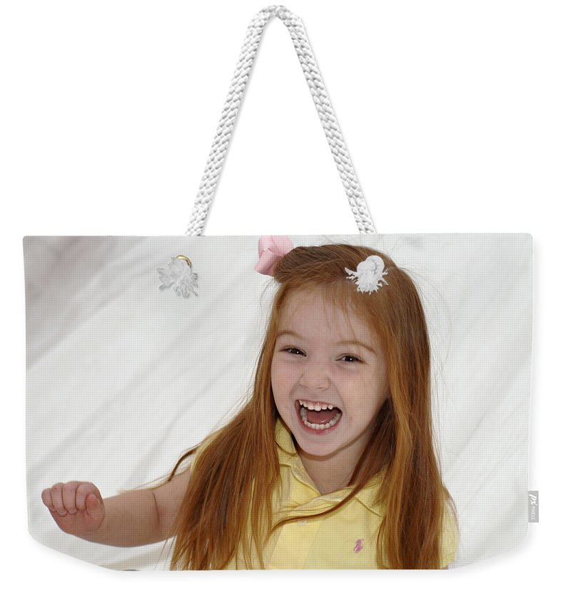 Happy Contest Weekender Tote Bag featuring the photograph Happy Contest 6 by Jill Reger