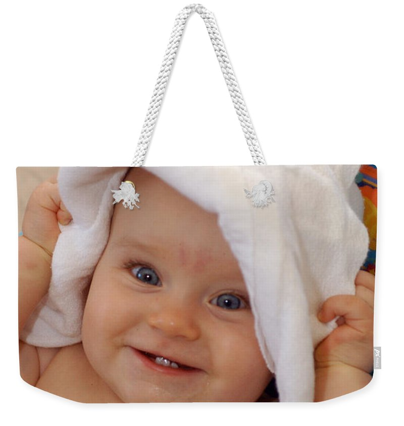 Happy Contest Weekender Tote Bag featuring the photograph Happy Contest 7 by Jill Reger