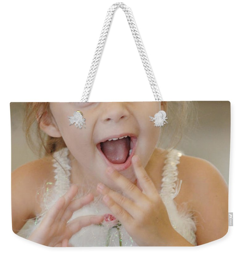 Happy Contest Weekender Tote Bag featuring the photograph Happy Contest 8 by Jill Reger