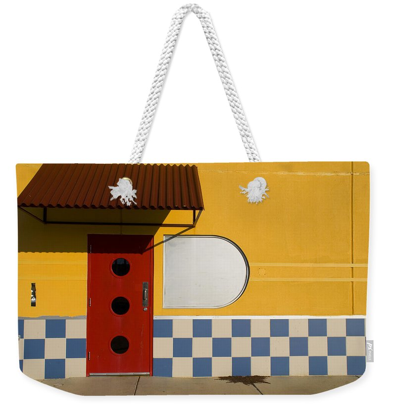 Architecture Weekender Tote Bag featuring the photograph Happy Days by Skip Hunt