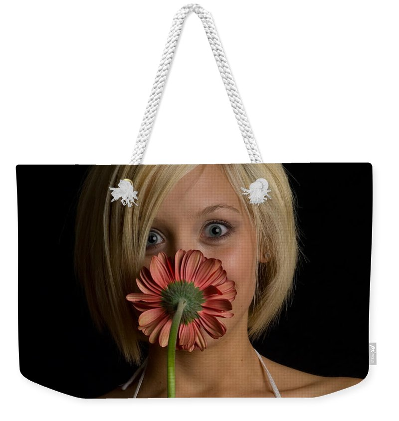 Flower Weekender Tote Bag featuring the photograph Happy Flower by Scott Sawyer