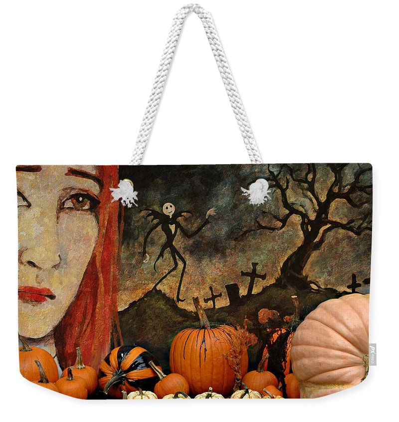 Halloween Weekender Tote Bag featuring the photograph Happy Halloween by Jeff Burgess