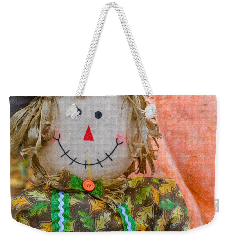 Harvest Weekender Tote Bag featuring the photograph Happy Harvest Time by Lisa Kilby